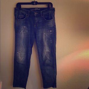 Universal Thread boyfriend jeans.